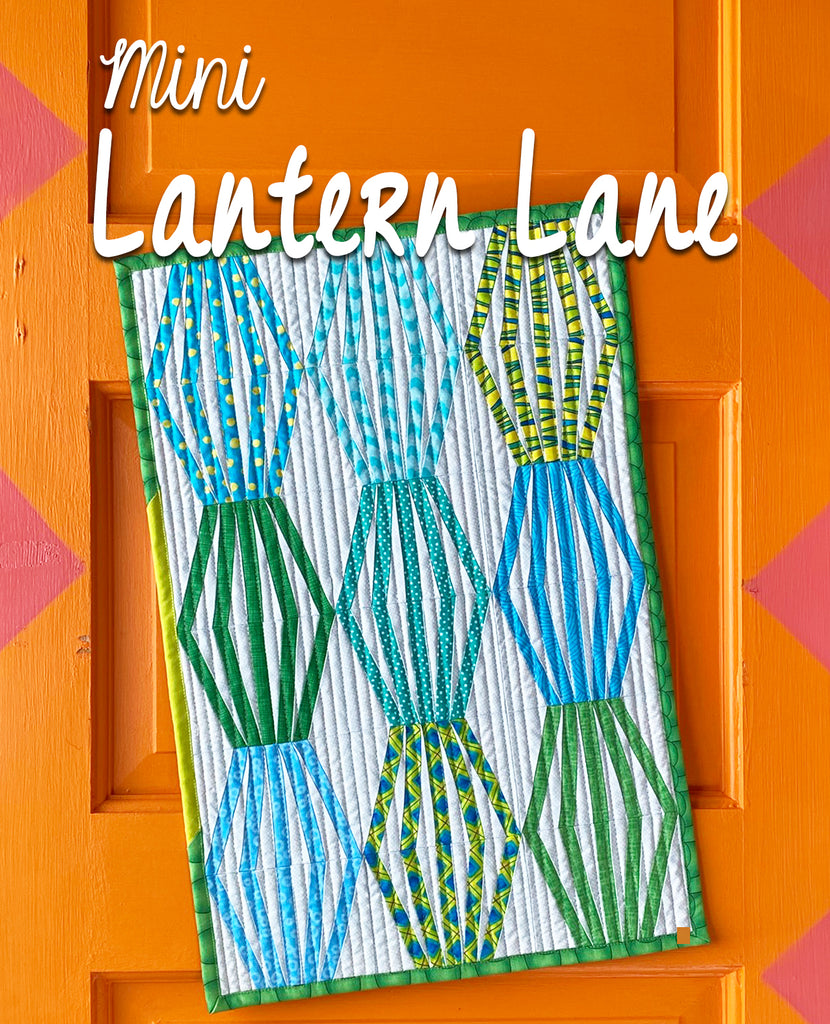 Mini Lantern Lane Quilt Pattern