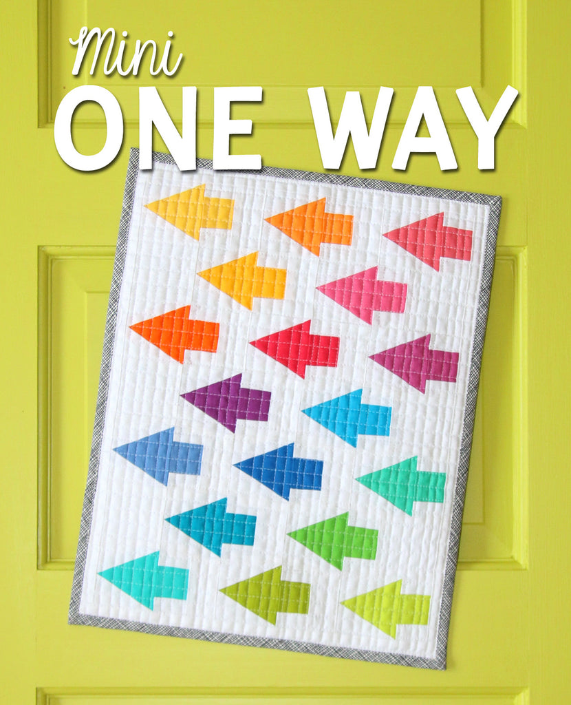 Mini One Way Quilt Pattern