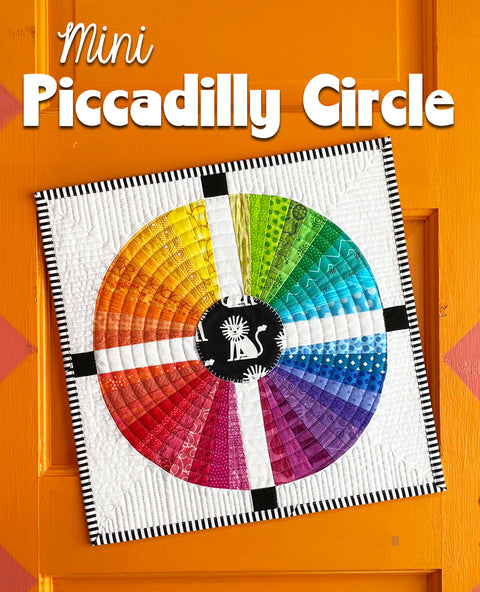 Mini Piccadilly Circle Quilt Pattern