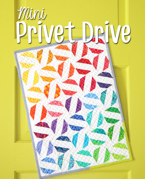 Mini Privet Drive Quilt Pattern