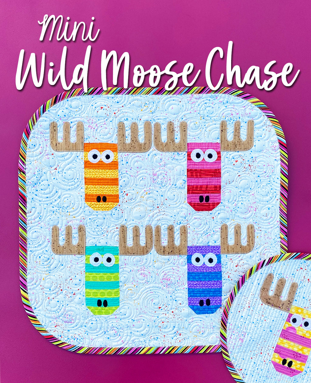 Mini Wild Moose Chase Quilt Pattern