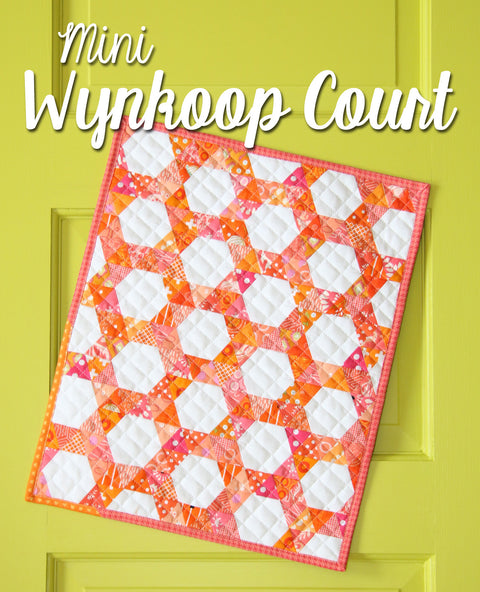 Mini Wynkoop Court Quilt Pattern