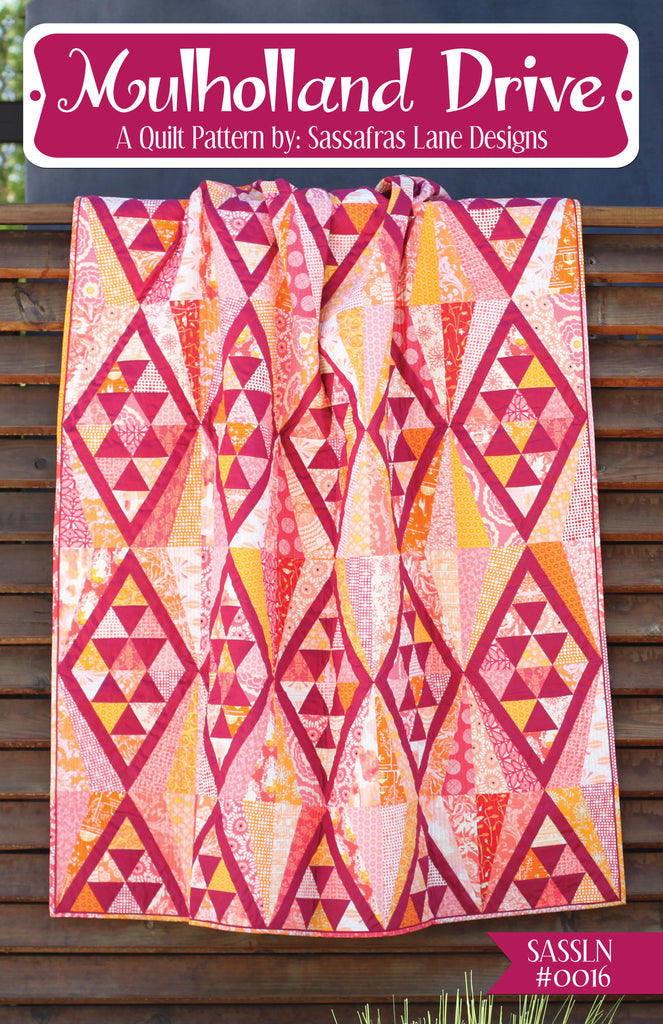 Mulholland Drive Quilt Pattern