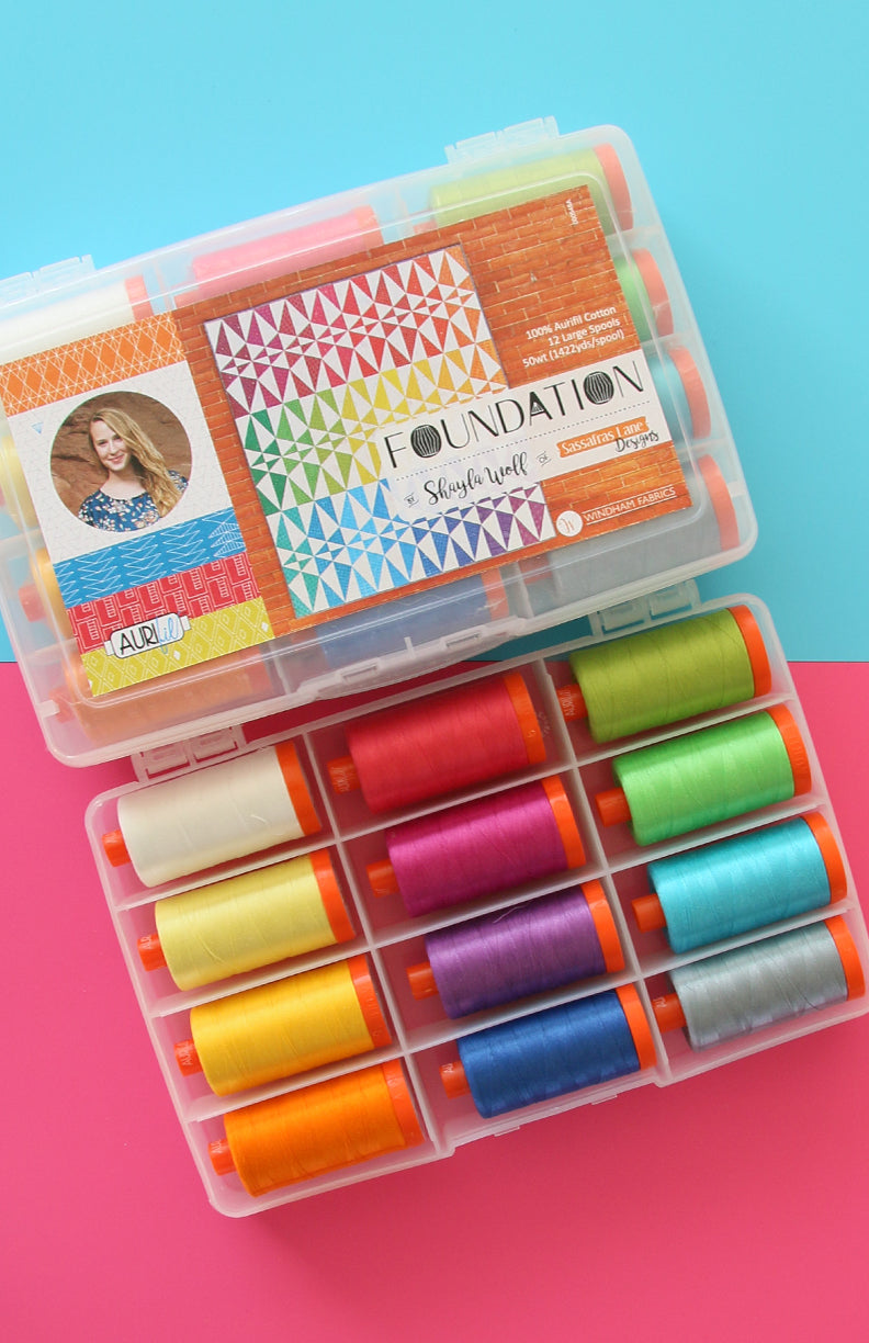 Foundation Aurifil Thread Box