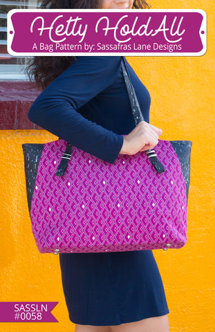 Hetty HoldAll Bag Pattern