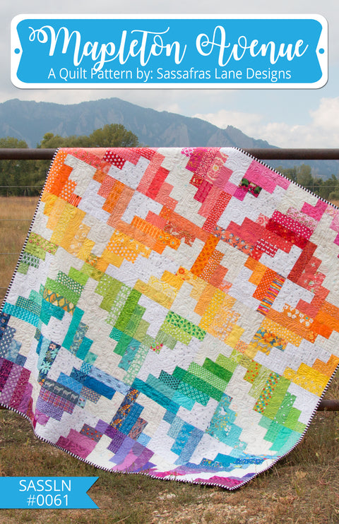 Mapleton Avenue Quilt Pattern