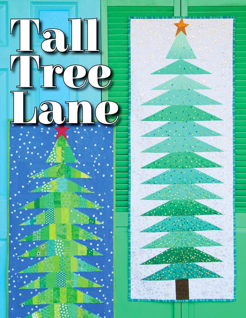 Tall Tree Lane Wallhanging Pattern