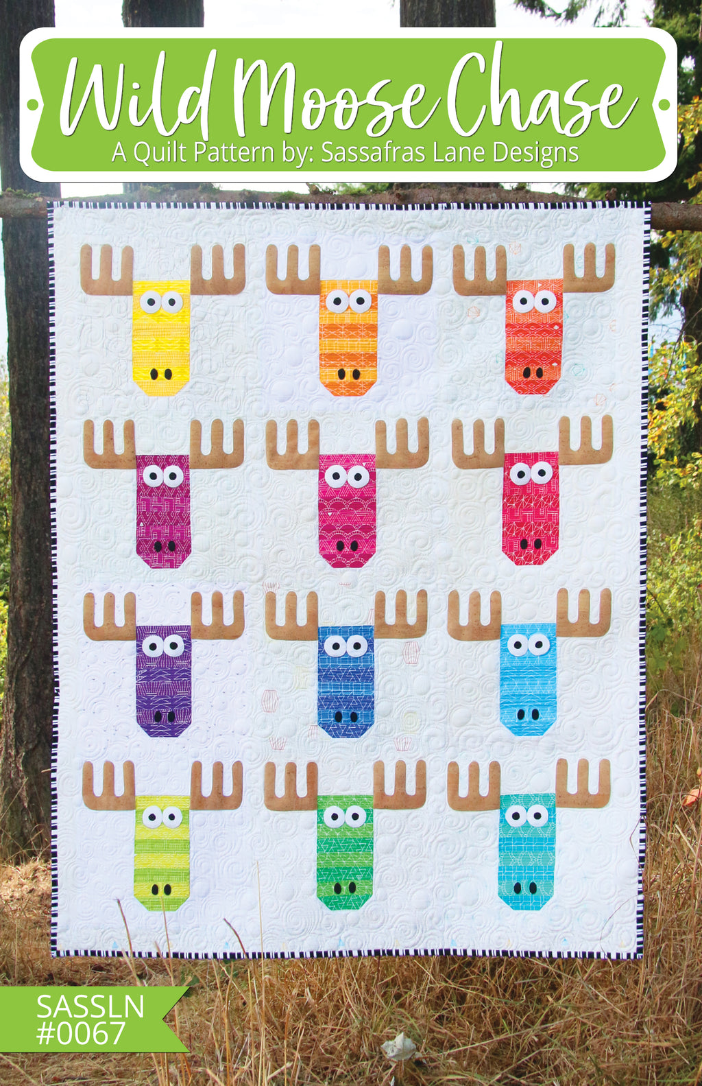 Wild Moose Chase Quilt & Pillow Pattern