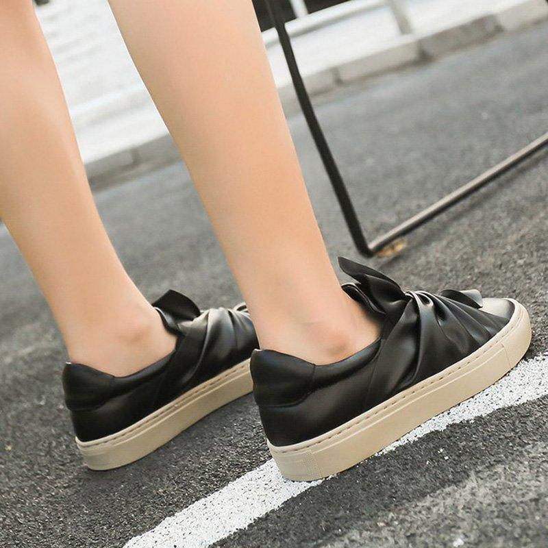 b53b8dff73736 ... Women Lazy Loafers Casual Slip On Classic Shoes ...