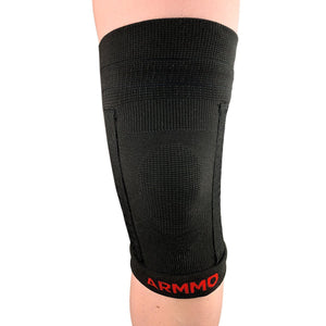 Compression Knee Sleeve, Kinesiology Sports Tape Pre-Cut & Gel Ice Pack Bundle