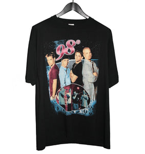98° 90's Because of you Rap Tee - Faded AU