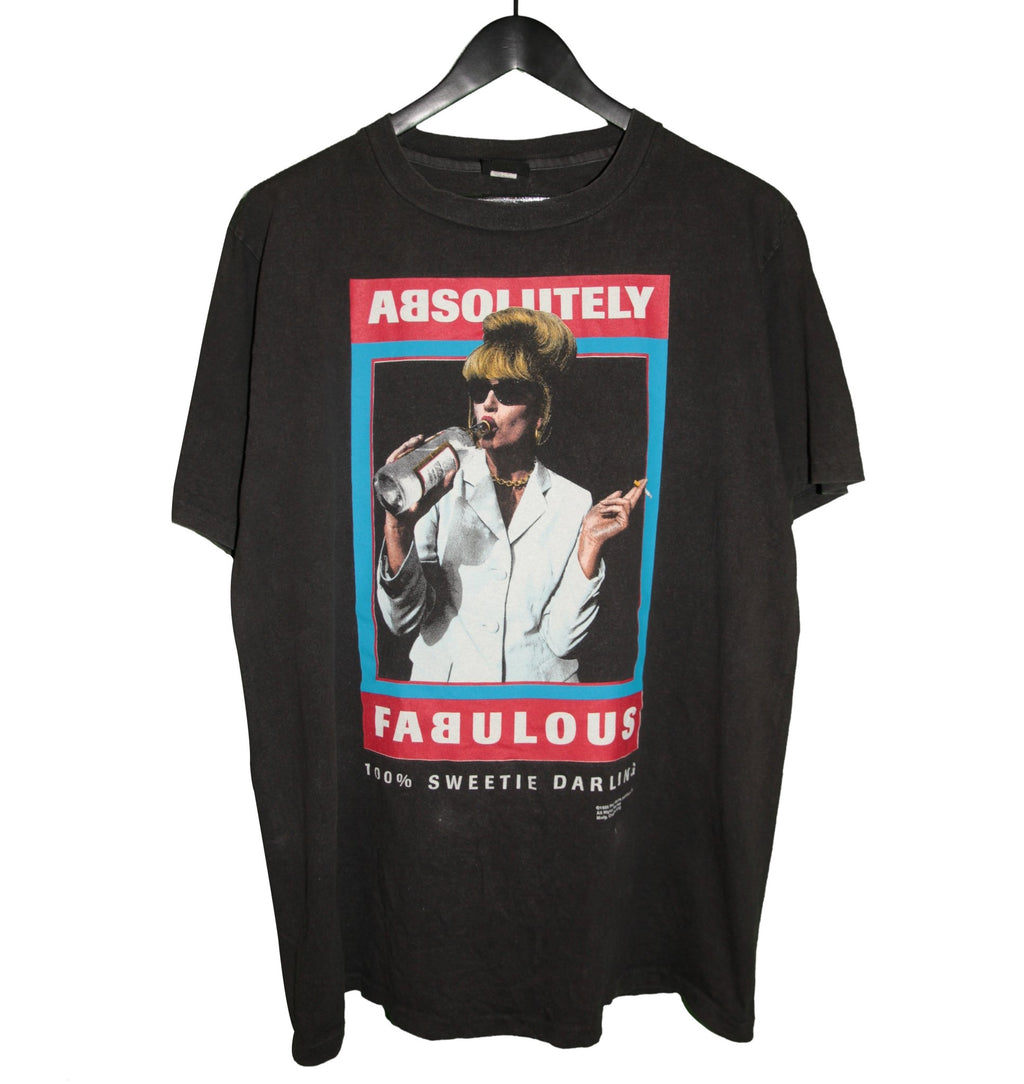 Absolutely Fabulous 1995 100% Sweetie Darling TV Shirt - Faded AU