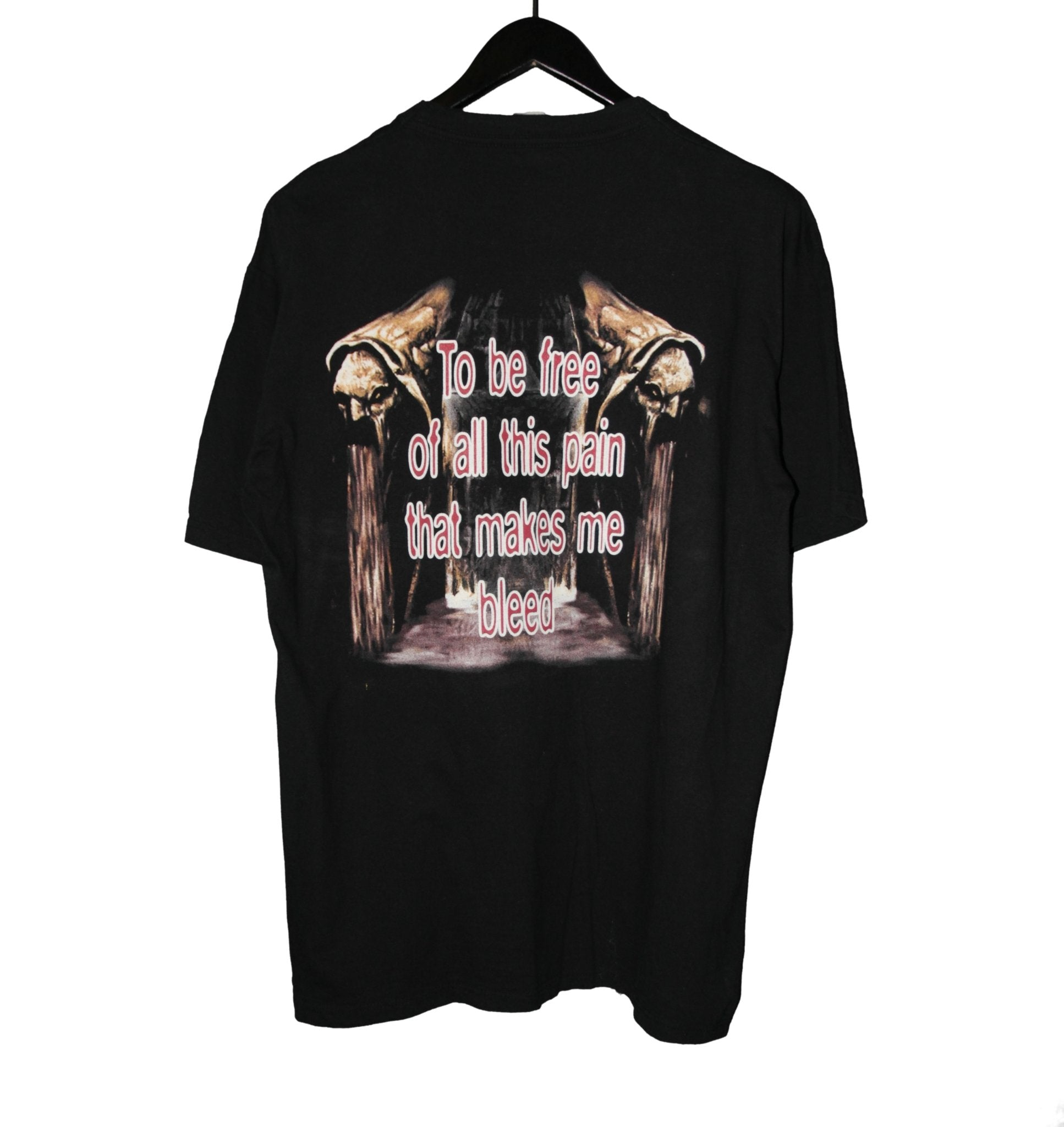 Angel Dust 1999 Bleed Shirt - Faded AU