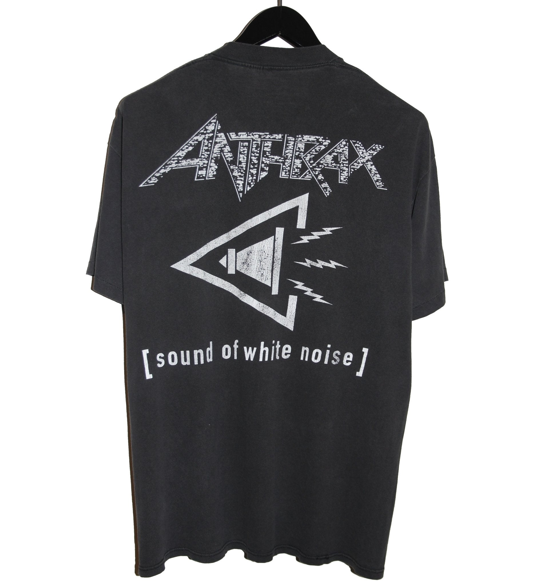 Anthrax 1993 Sound of White Noise Album Shirt - Faded AU