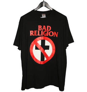 Bad Religion 1997 Crossbuster Shirt - Faded AU
