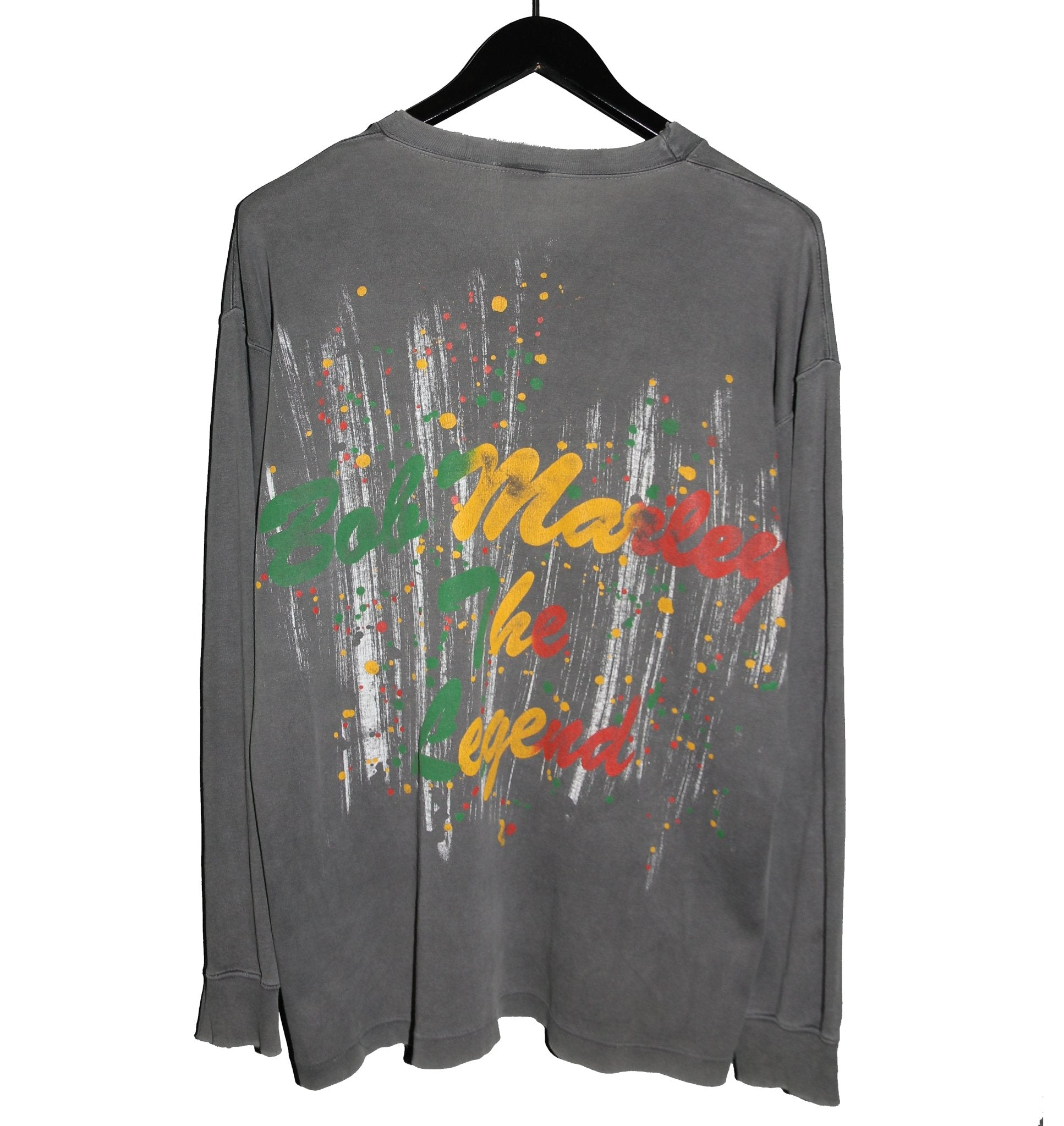 Bob Marley 90s The Legend Memorial Longsleeve - Faded AU