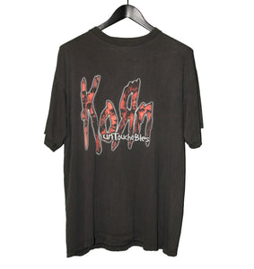Bootleg Korn 2002 Untouchables Shirt - Faded AU