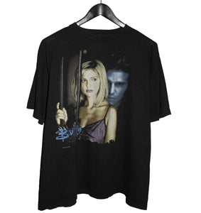 Buffy The Vampire Slayer 1998 Promo TV Shirt - Faded AU