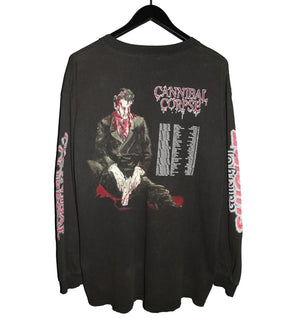 Cannibal Corpse 1998 Gallery of Suicide Longsleeve - Faded AU