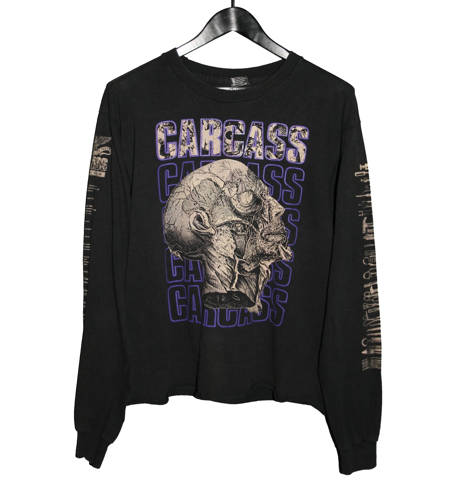 Carcass 1992 Tour Longsleeve - Faded AU