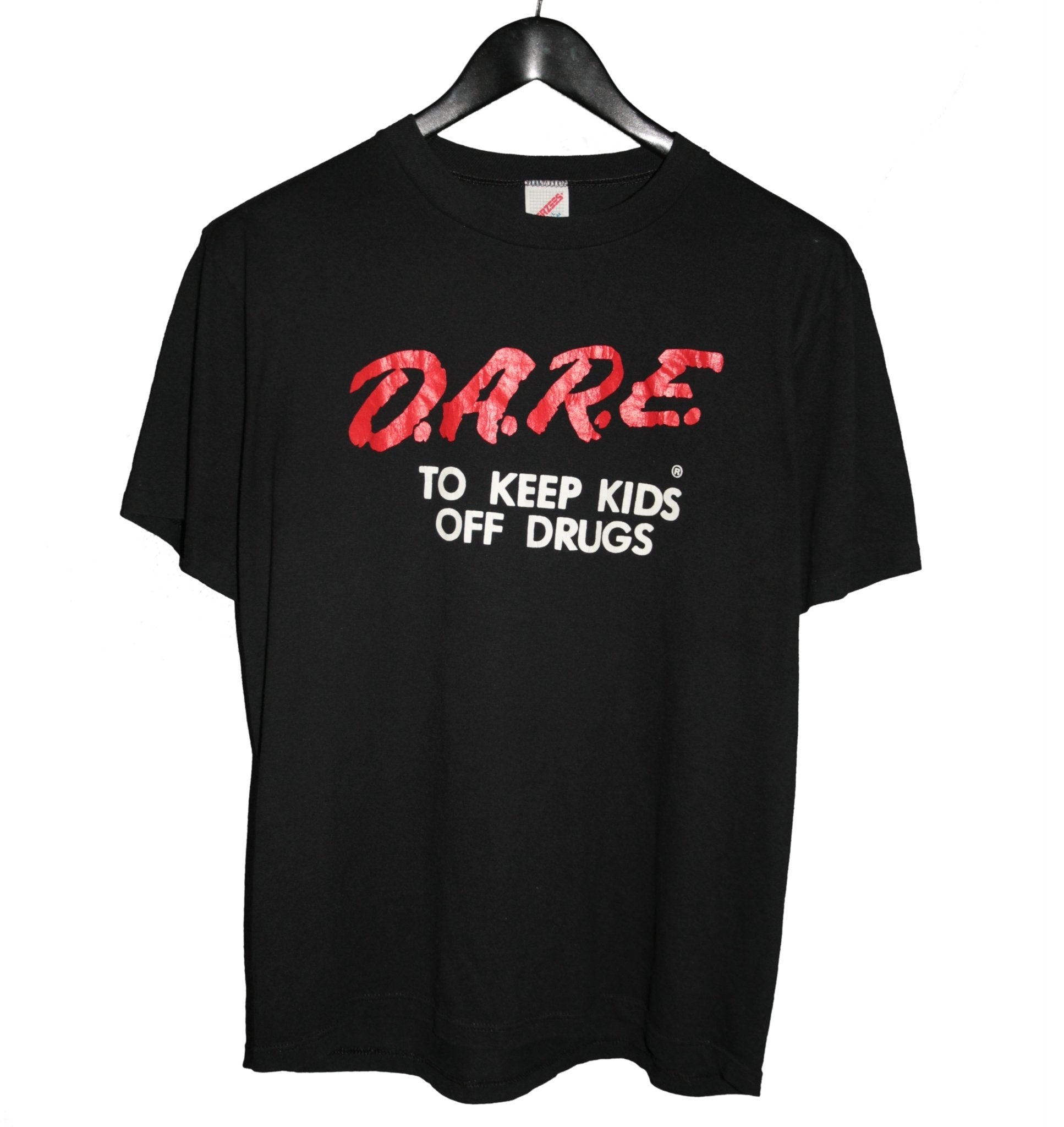 D.A.R.E. 1980s Keep Kids Off Drugs Shirt - Faded AU