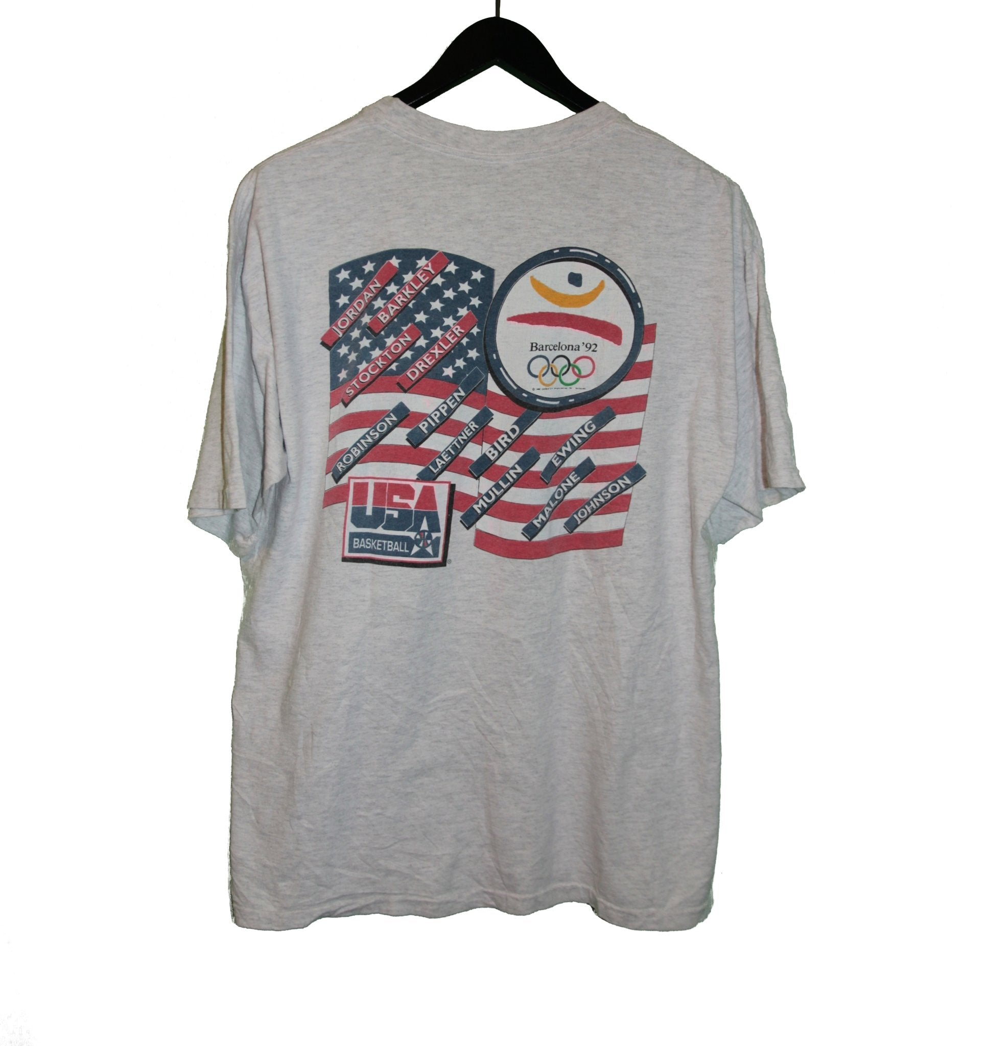 Dream Team USA 1992 Olympics Shirt - Faded AU