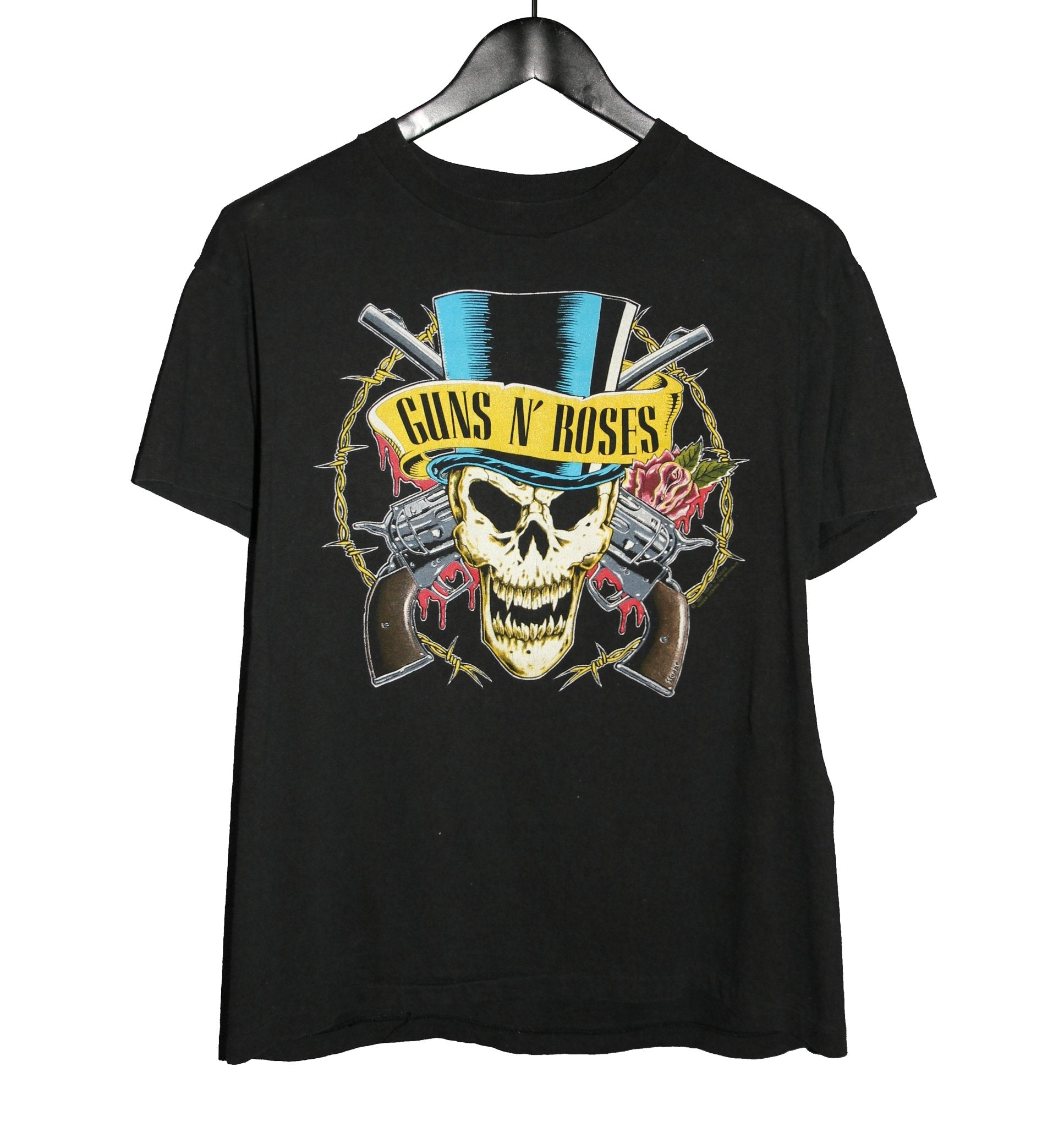Guns N' Roses 1991/92 Use Your Illusion Tour Shirt - Faded AU