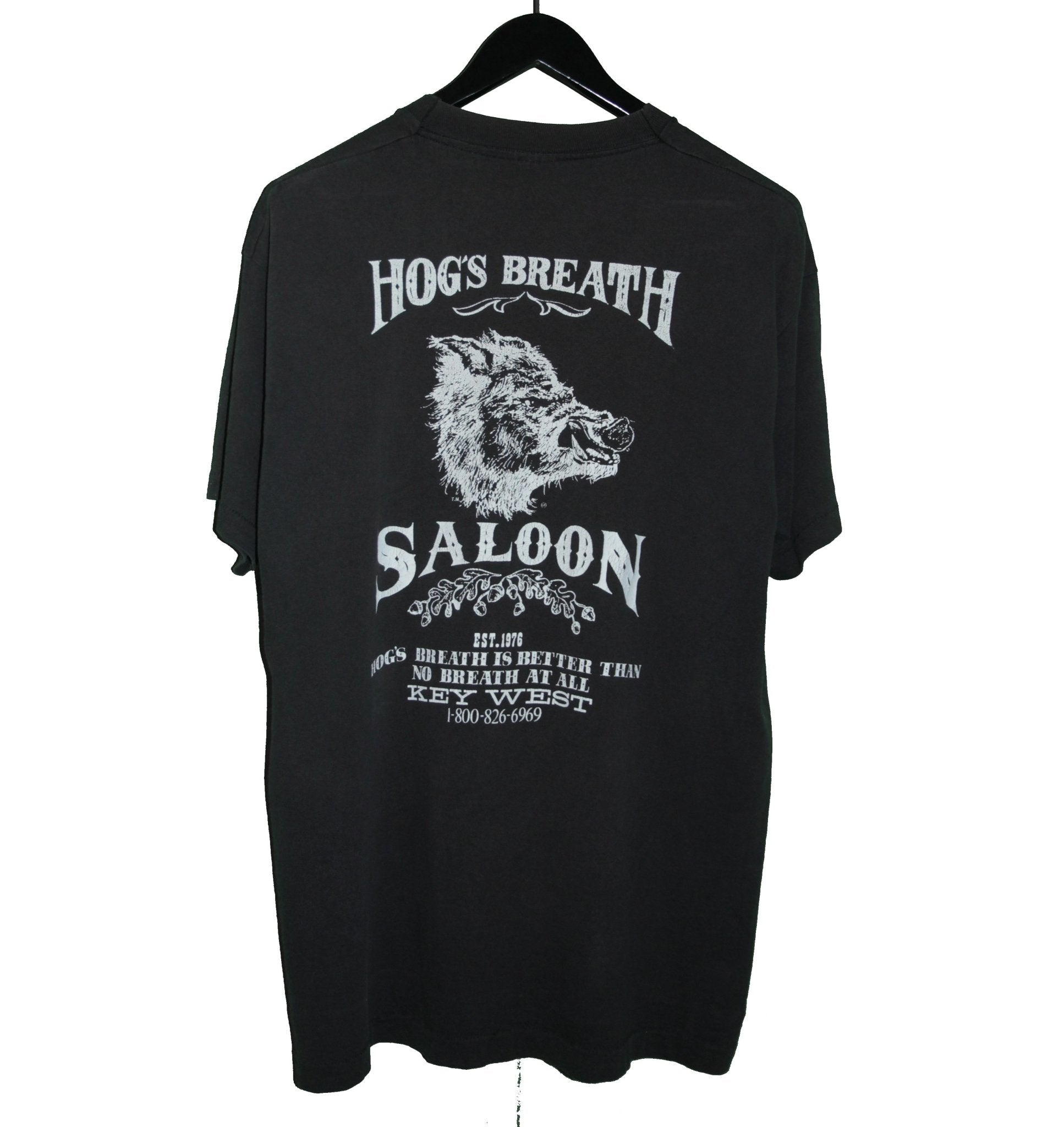 Hogs Breath 90's Hot Sauce Biker Shirt - Faded AU