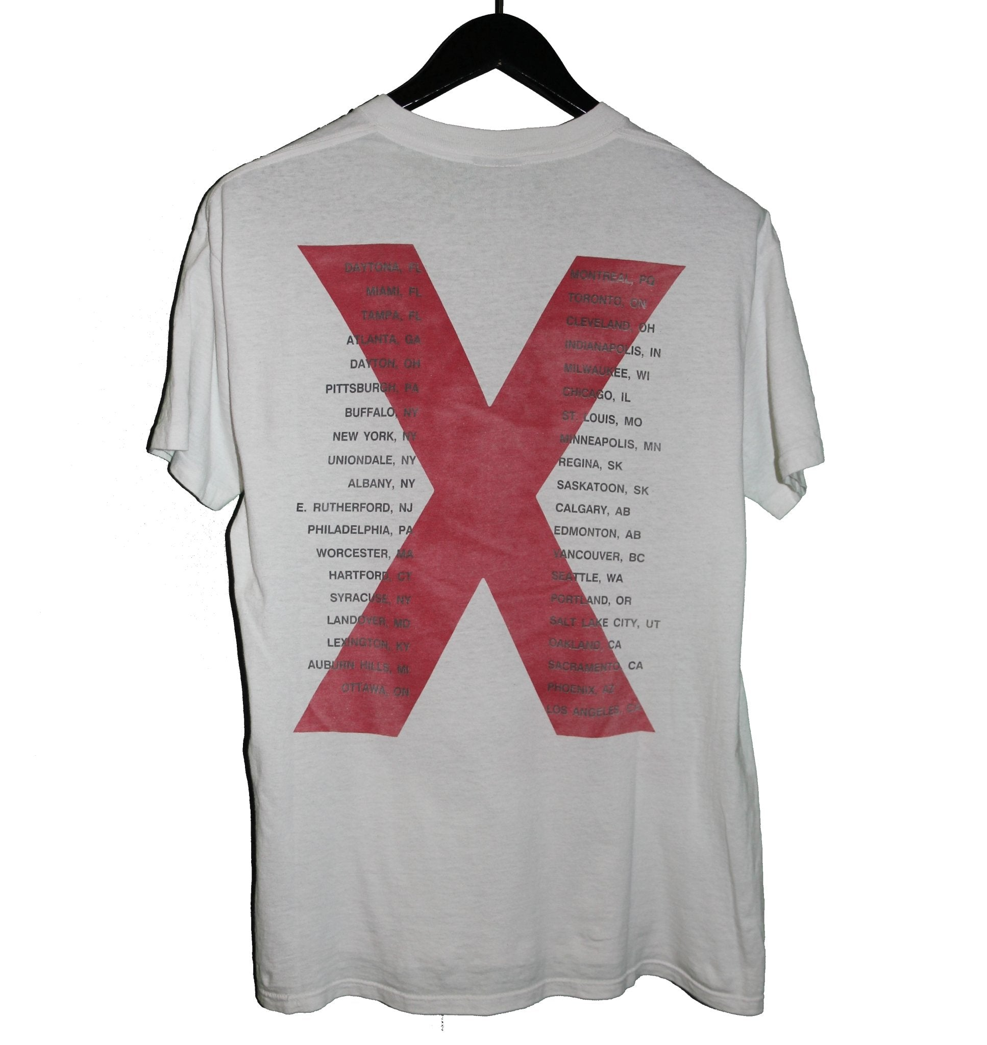 INXS 1991 X Factor Tour Shirt - Faded AU