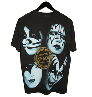 KISS 1997 Hot in the Shade All Over Print Tour Shirt - Faded AU