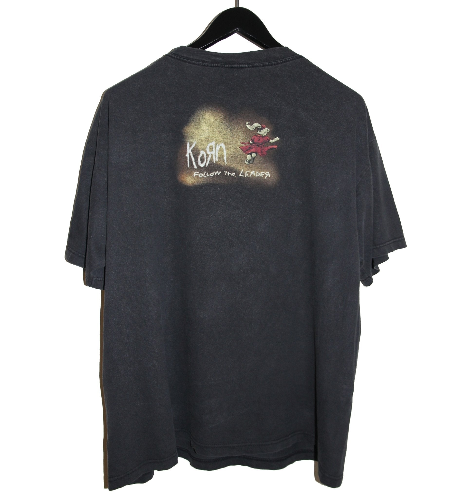 Korn 1998 Follow The Leader Album Shirt - Faded AU