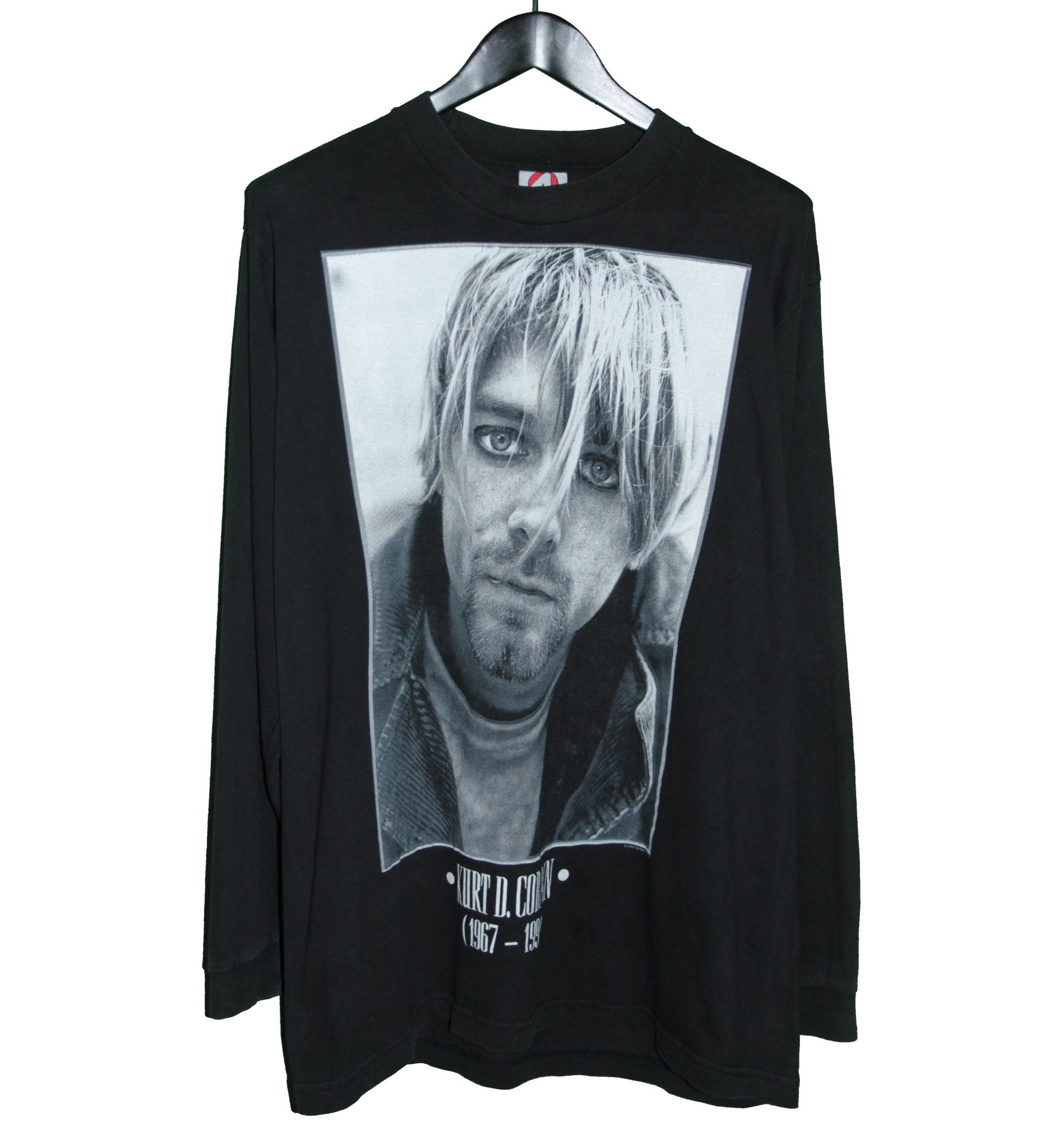 Kurt Cobain 1994 Memorial Longsleeve Shirt - Faded AU