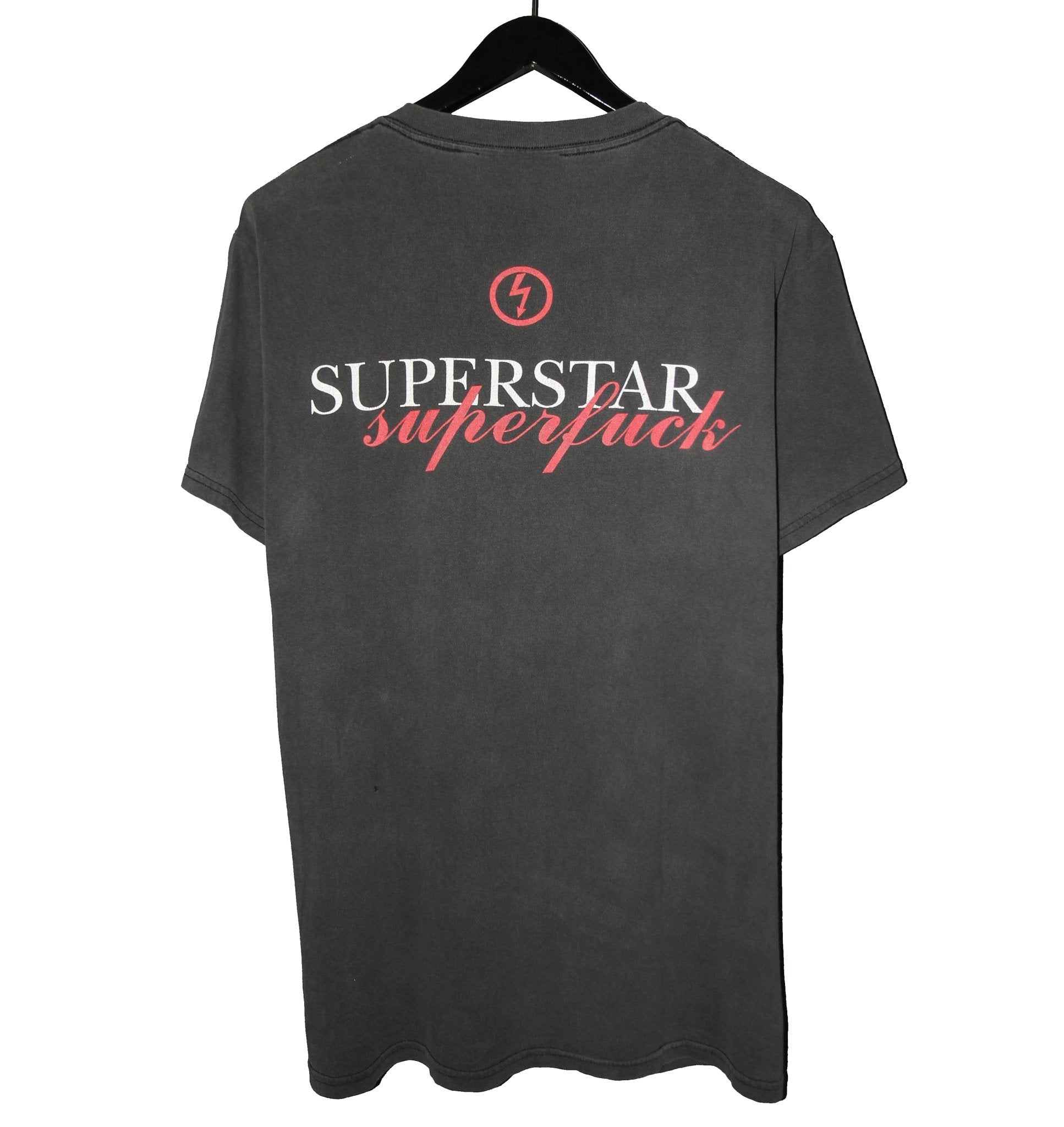 Marilyn Manson 1994 Superstar Shirt - Faded AU
