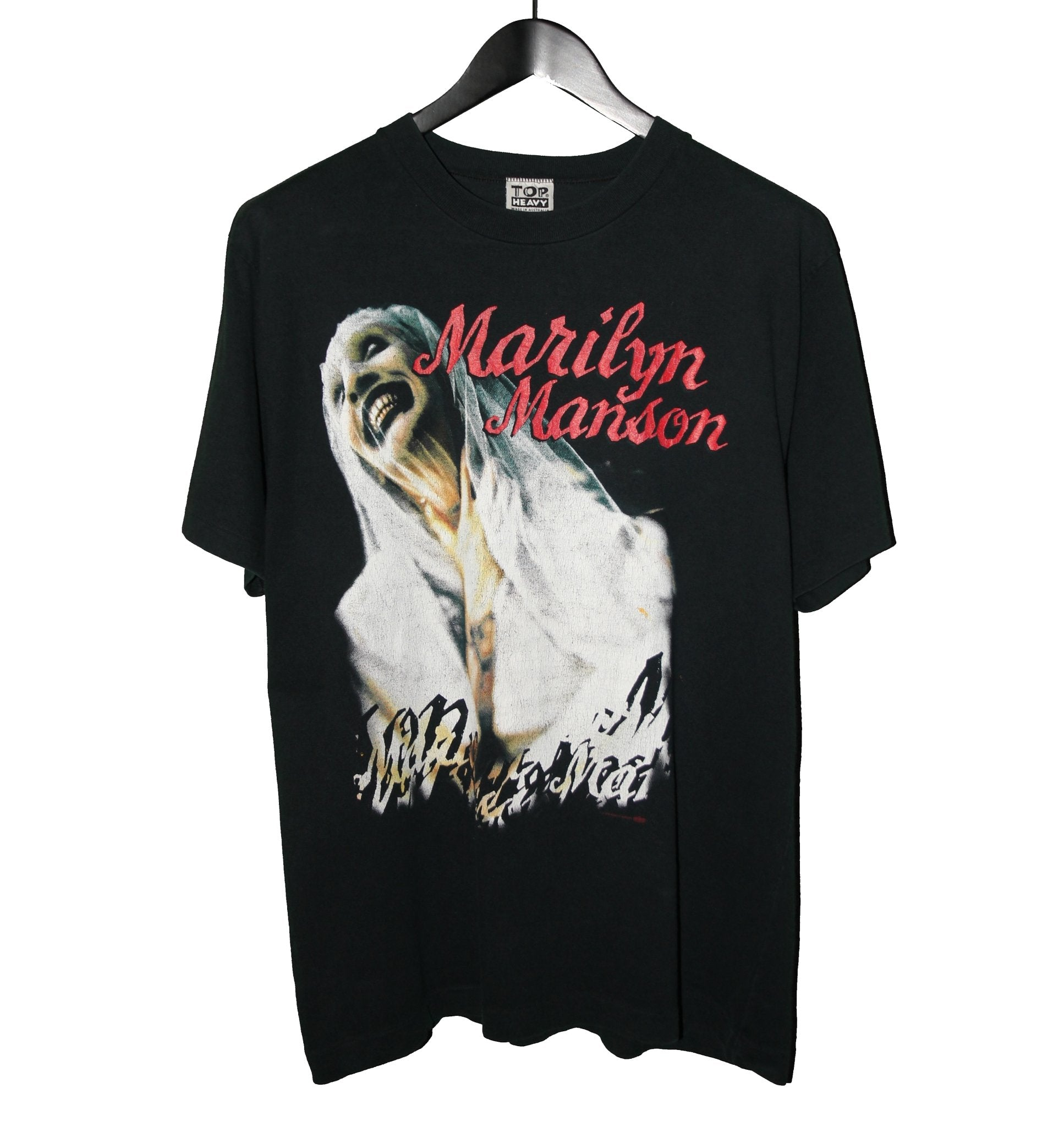 Marilyn Manson 1996 Sweet Dreams Shirt - Faded AU