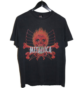 Metallica 1997 Pushead Rebel Shirt - Faded AU