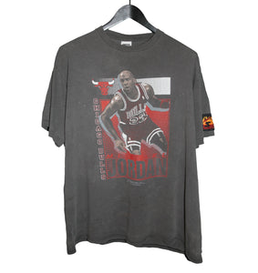 Michael Jordan 1991 Chicago Bulls Starter Shirt - Faded AU