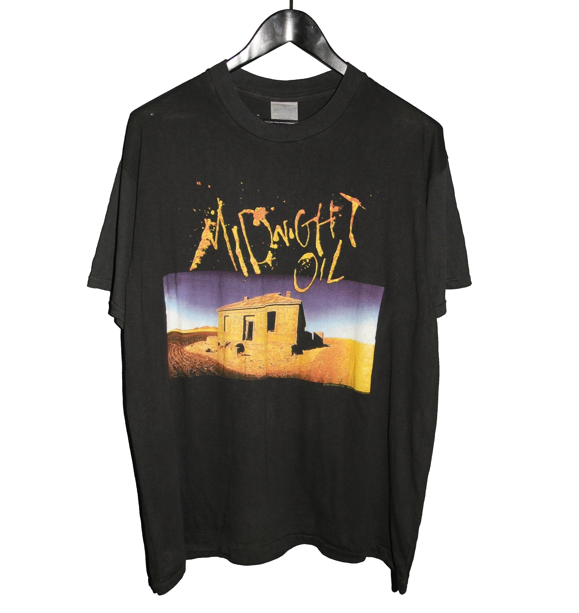 Midnight Oil 1989 Diesel and Dust Shirt - Faded AU