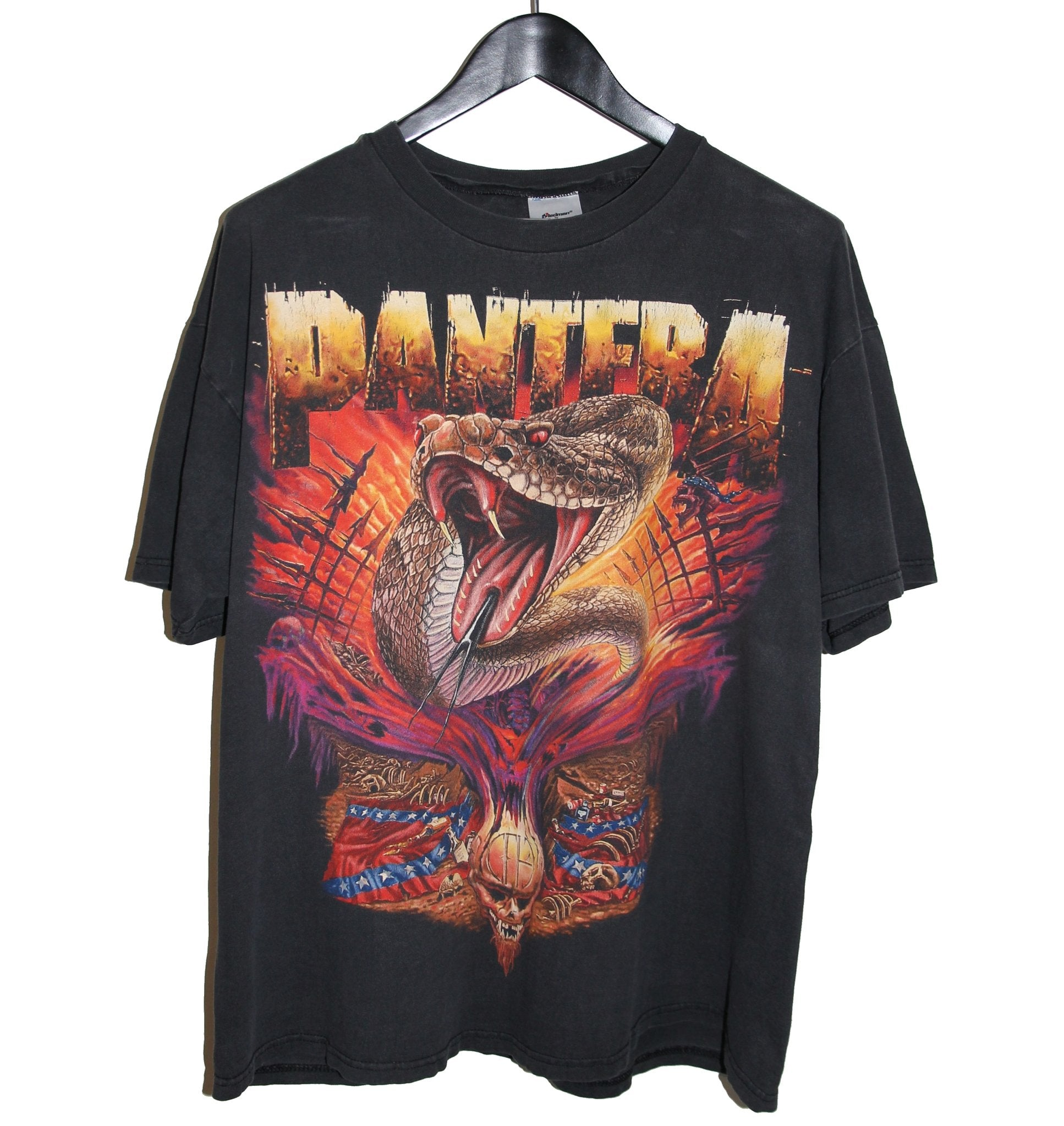 Pantera 1998 European Tour Shirt - Faded AU
