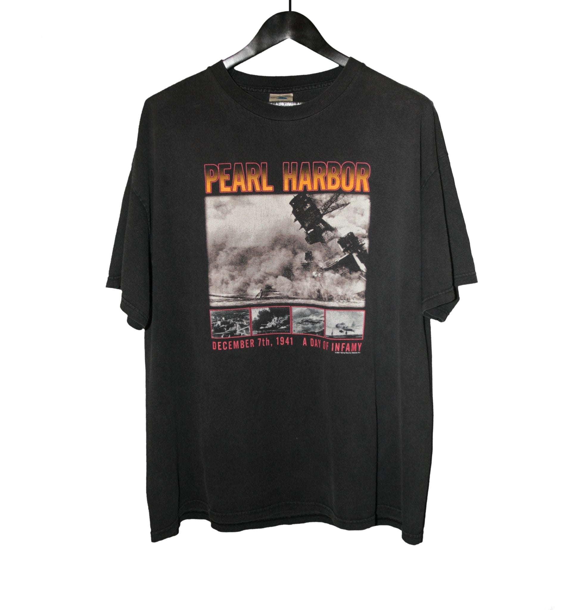 Pearl Harbor 2001 Movie Shirt - Faded AU