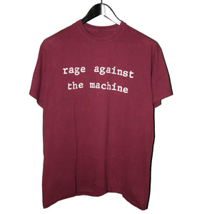 Rage Against the Machines 00's Molotov Shirt - Faded AU