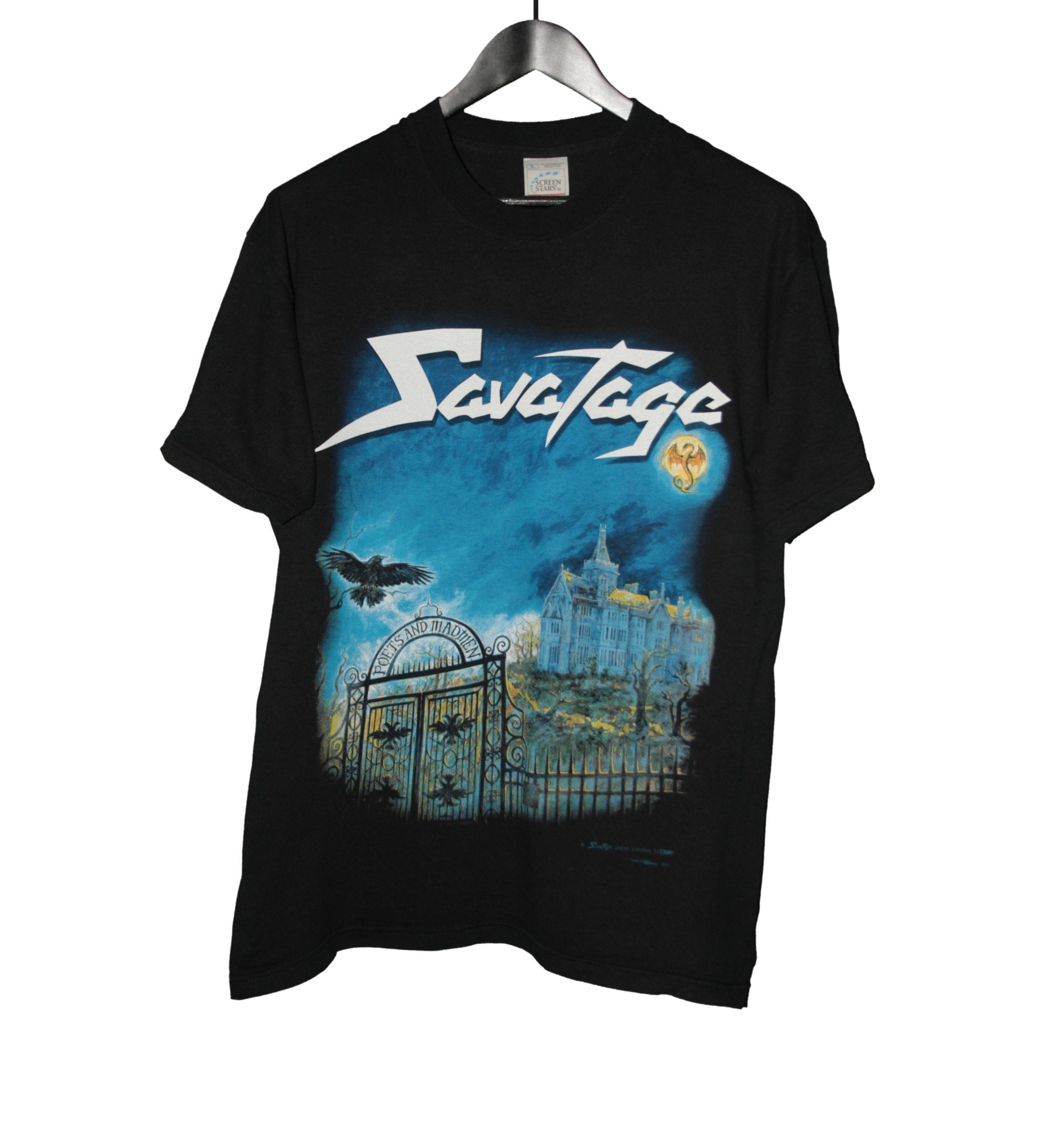 Savatage Poets And Madmen Shirt - Faded AU