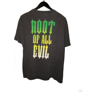 Slayer 1990 The Root Of All Evil Shirt - Faded AU