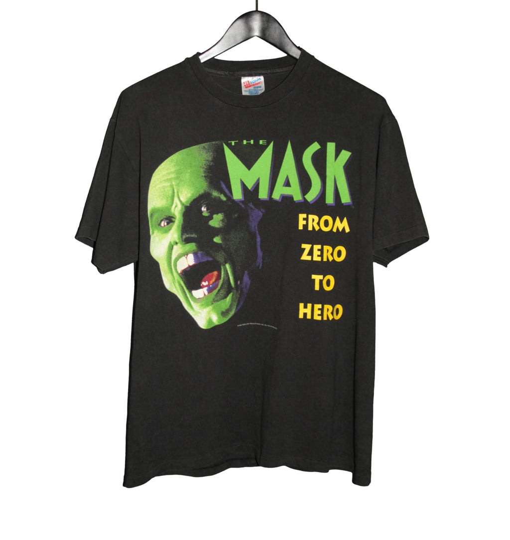 The Mask 1994 Zero To Hero Movie Shirt - Faded AU