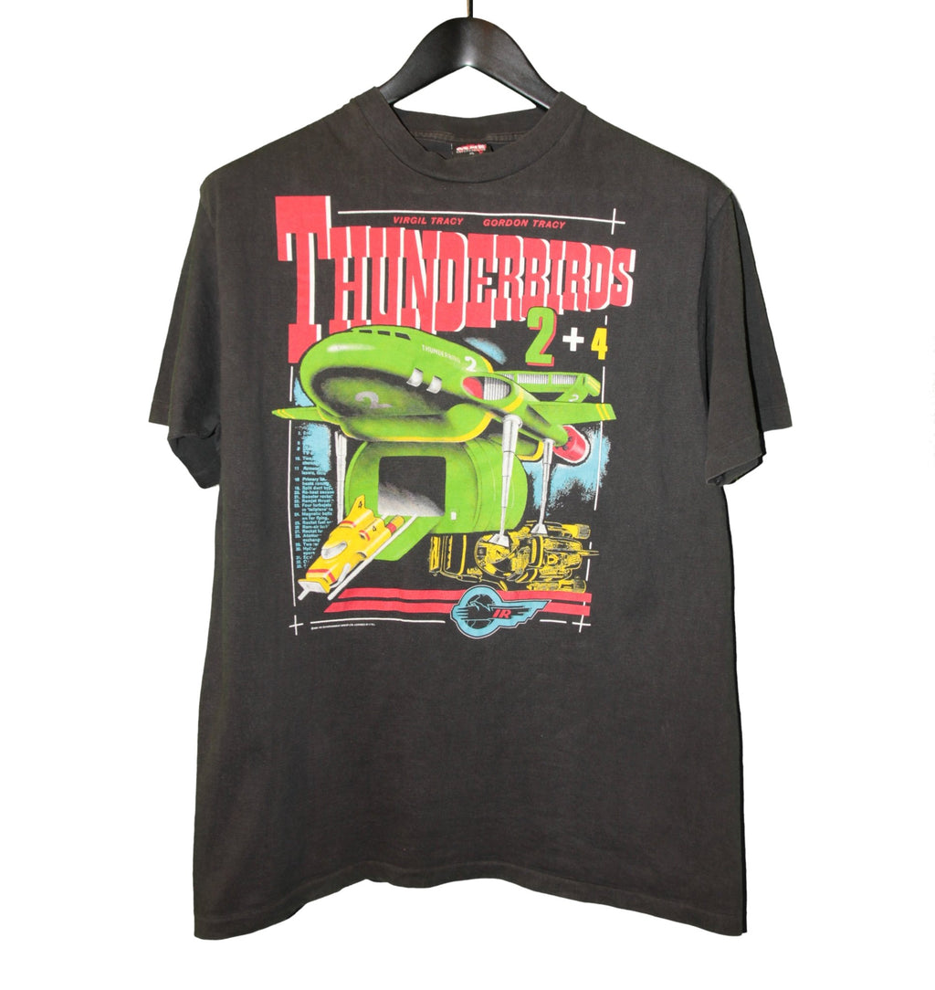 Thunderbirds 1991 TV Series Shirt - Faded AU