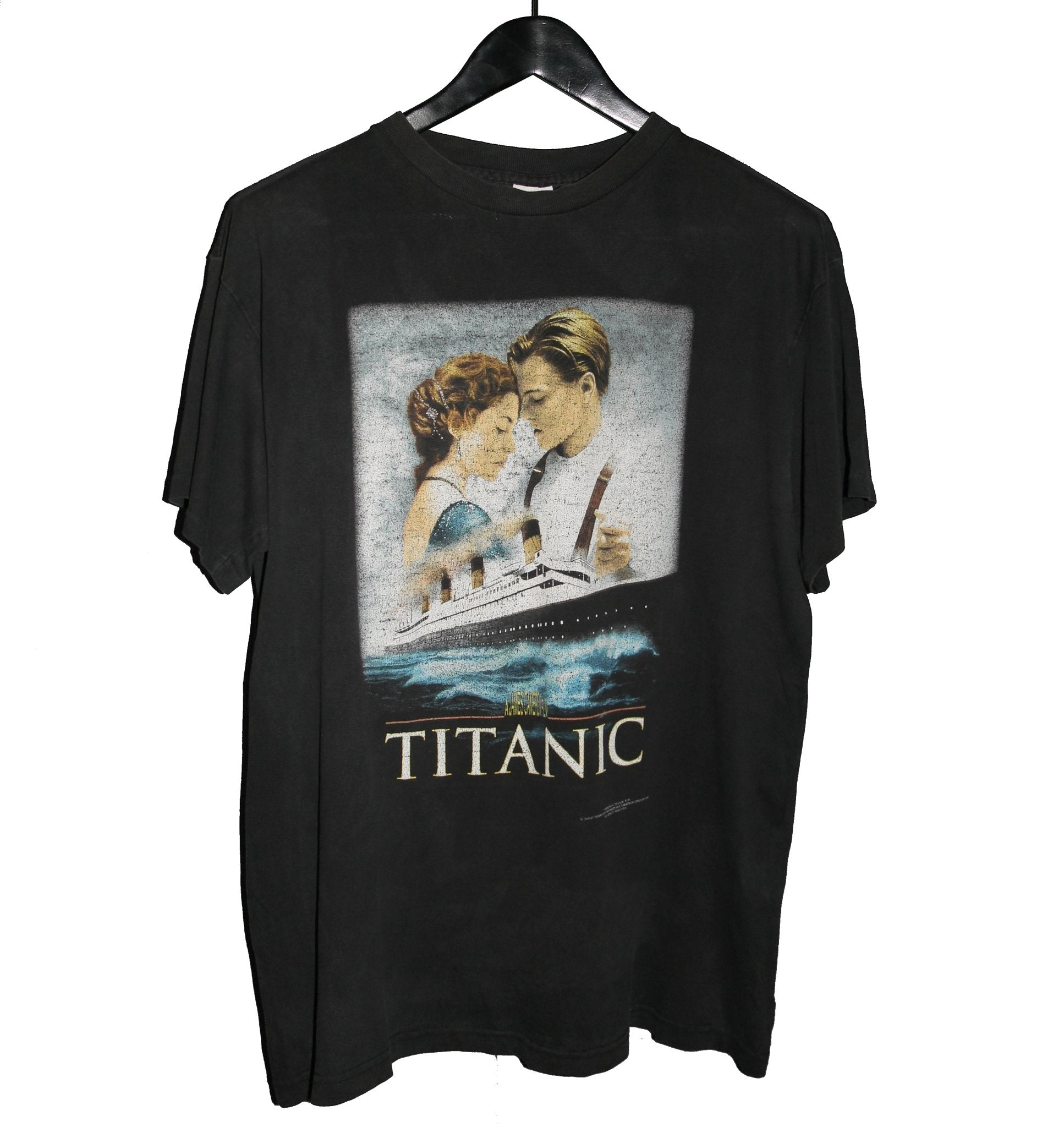 Titanic 1998 Movie Shirt - Faded AU