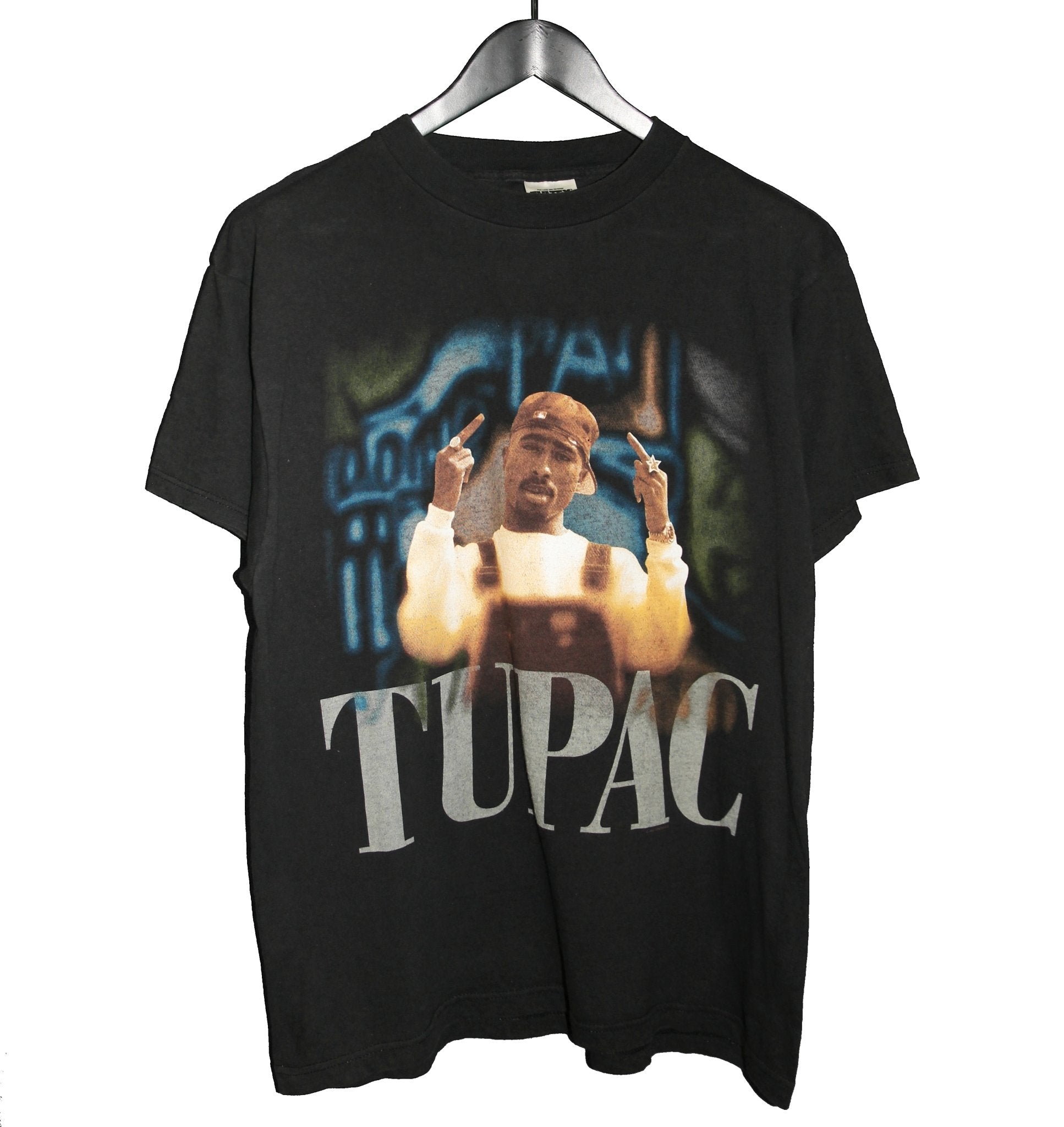 Tupac Shakur 1998 2PAC Memorial Shirt - Faded AU