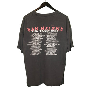 Van Halen 1998 United States Tour Shirt - Faded AU
