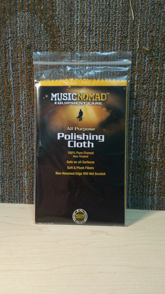 MusicNomad - Flannel Polishing Cloth