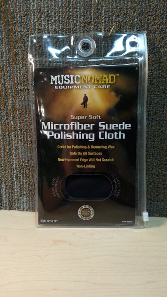 MusicNomad - Microfiber Suede Polishing Cloth