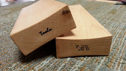 Radius Sanding Blocks - Double-sided